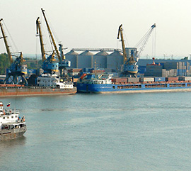 "Development  of multimodal transport and logistics hub ""Rostov Universal Port"""
